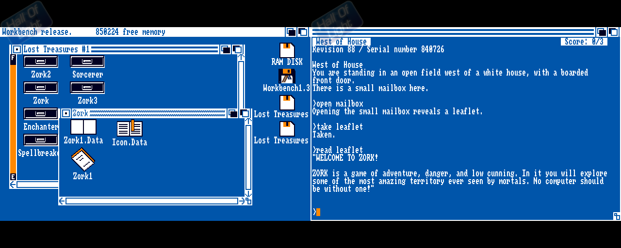 Lost Treasures Of Infocom, The - Double Barrel Screenshot
