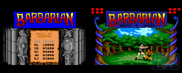 Barbarian: The Ultimate Warrior - Double Barrel Screenshot