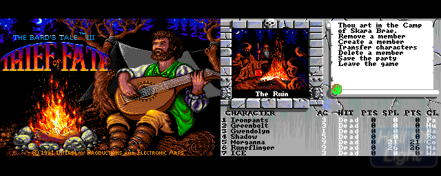 Bard's Tale III, The: Thief Of Fate - Double Barrel Screenshot