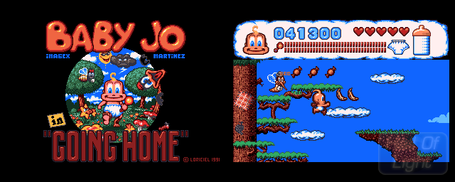 Baby Jo In ''Going Home'' - Double Barrel Screenshot