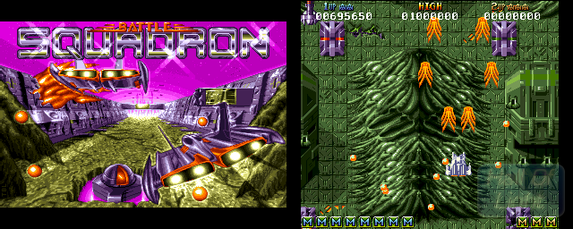 Battle Squadron: The Destruction Of The Barrax Empire - Double Barrel Screenshot