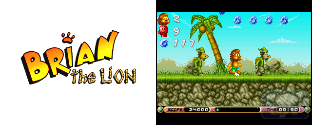 Brian The Lion - Double Barrel Screenshot