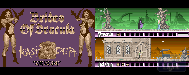 Brides Of Dracula - Double Barrel Screenshot