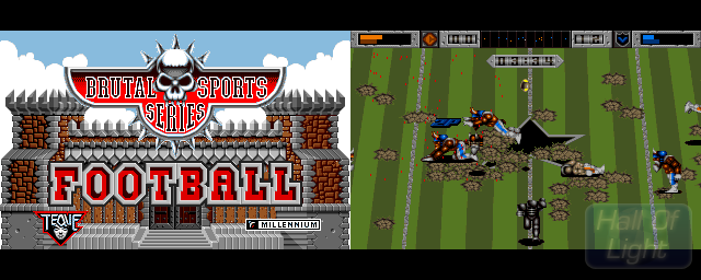 Brutal Football: Brutal Sports Series - Double Barrel Screenshot