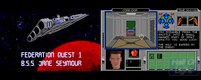 Federation Quest 1: B.S.S. Jane Seymour - Double Barrel Screenshot