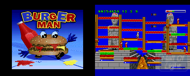Burger Man - Double Barrel Screenshot