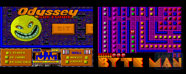 Byte Man - Double Barrel Screenshot