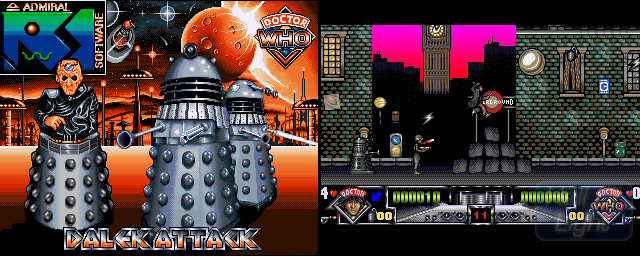 Dalek Attack - Double Barrel Screenshot