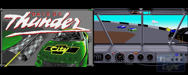Days Of Thunder - Double Barrel Screenshot