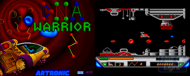 DNA Warrior - Double Barrel Screenshot