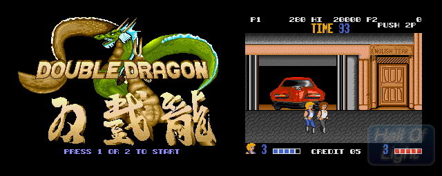 Double Dragon - Double Barrel Screenshot