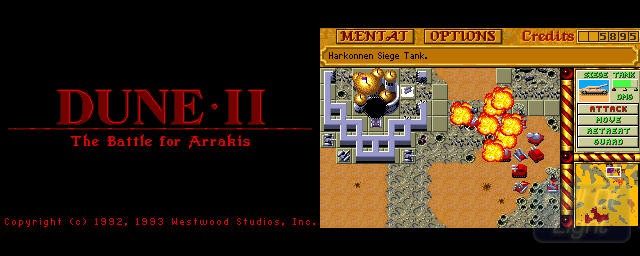 Dune II: The Battle For Arrakis - Double Barrel Screenshot