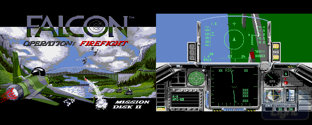 Falcon Mission Disk Volume II: Operation Firefight - Double Barrel Screenshot