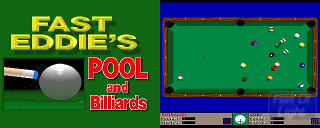 Fast Eddie's Pool And Billiards - Double Barrel Screenshot