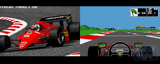 Ferrari Formula One: Grand Prix Racing Simulation - Double Barrel Screenshot