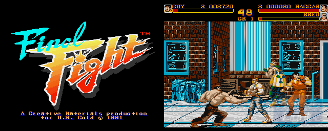 Final Fight - Double Barrel Screenshot