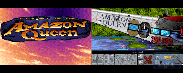 Flight Of The Amazon Queen - Double Barrel Screenshot