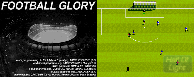 Football Glory - Double Barrel Screenshot