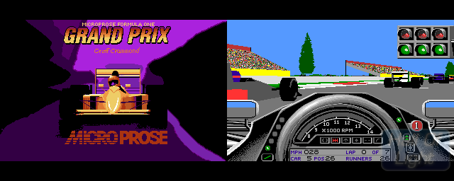 MicroProse Formula One Grand Prix - Double Barrel Screenshot