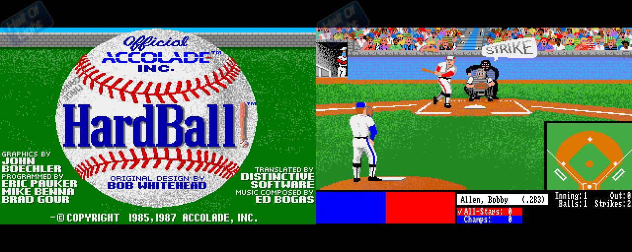 HardBall! - Double Barrel Screenshot