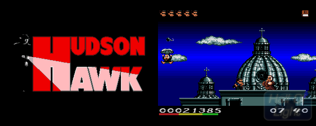 Hudson Hawk - Double Barrel Screenshot