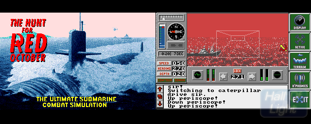 Hunt For Red October, The (Oxford Digital) - Double Barrel Screenshot