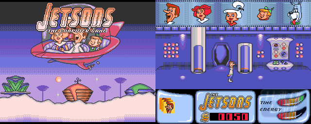 Jetsons: The Computer Game - Double Barrel Screenshot