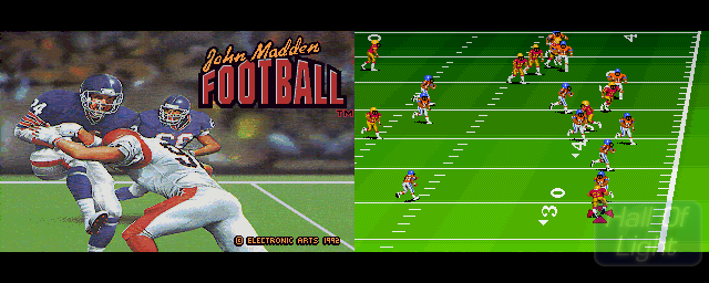 John Madden American Football - Double Barrel Screenshot