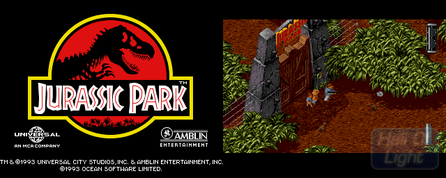 Jurassic Park - Double Barrel Screenshot