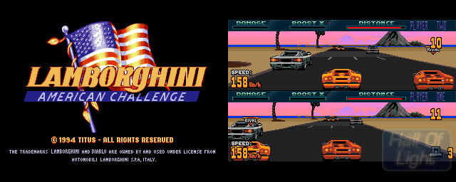 Lamborghini American Challenge - Double Barrel Screenshot