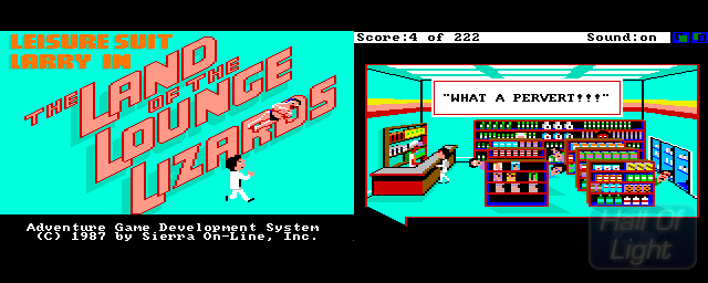 Leisure Suit Larry In The Land Of The Lounge Lizards - Double Barrel Screenshot