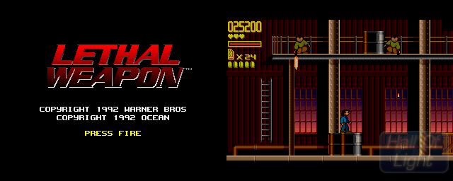 Lethal Weapon - Double Barrel Screenshot