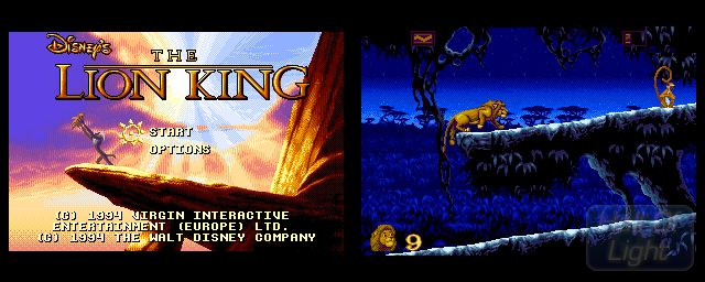 Lion King, The - Double Barrel Screenshot