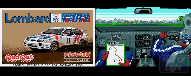Lombard RAC Rally - Double Barrel Screenshot