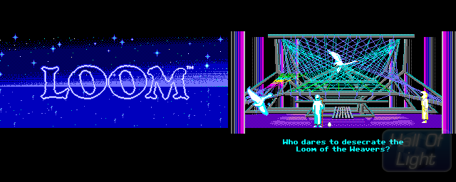 Loom - Double Barrel Screenshot