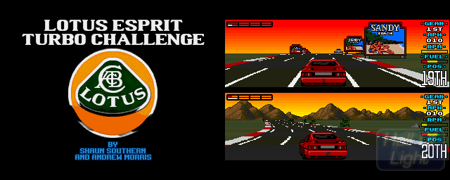 Lotus Esprit Turbo Challenge - Double Barrel Screenshot