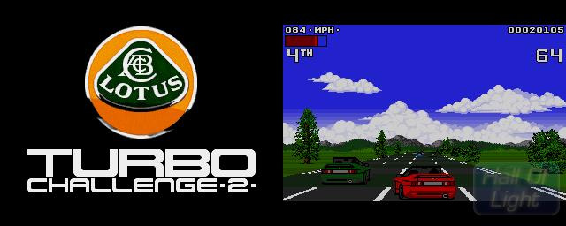 Lotus Turbo Challenge 2 - Double Barrel Screenshot