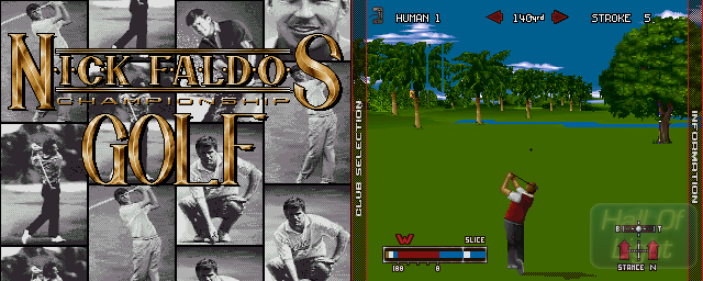 Nick Faldo's Championship Golf - Double Barrel Screenshot