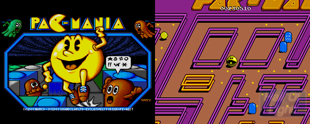 Pac-Mania - Double Barrel Screenshot