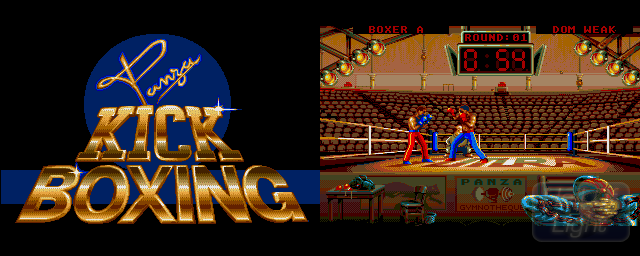 Panza Kick Boxing - Double Barrel Screenshot
