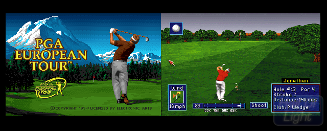 PGA European Tour - Double Barrel Screenshot