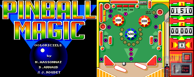 Pinball Magic - Double Barrel Screenshot