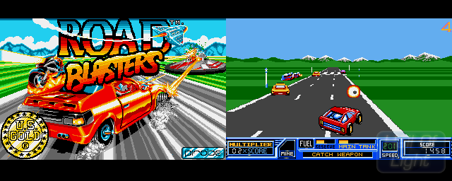 Road Blasters - Double Barrel Screenshot