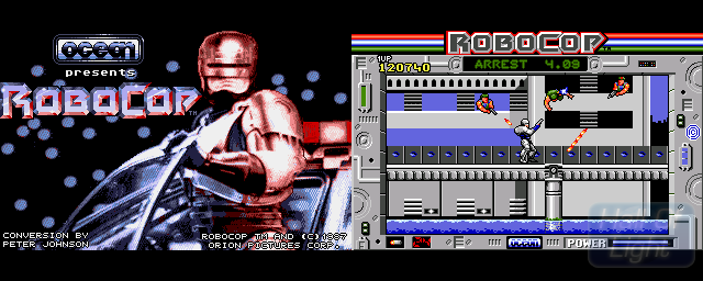 RoboCop - Double Barrel Screenshot