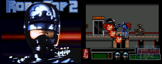 RoboCop 2 - Double Barrel Screenshot
