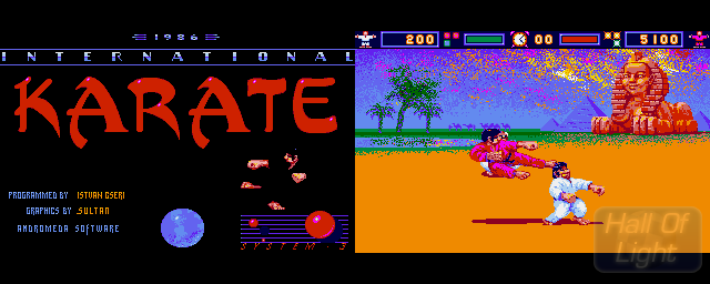 International Karate - Double Barrel Screenshot