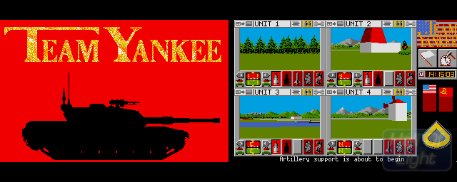 Team Yankee Amiga - HOL database