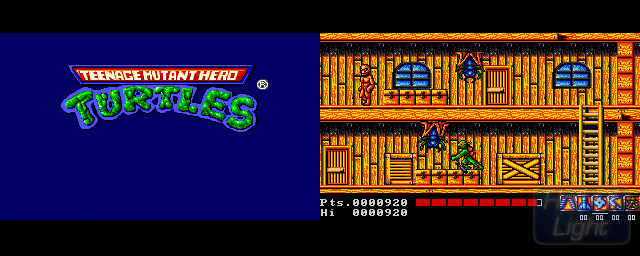 Teenage Mutant Hero Turtles - Double Barrel Screenshot