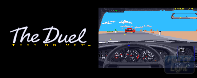 Test Drive II: The Duel - Double Barrel Screenshot