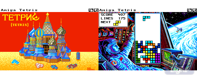 Tetris (Infogrames) - Double Barrel Screenshot